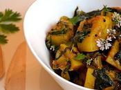 Aloo Palak (pommes terre épinards l'indienne)