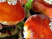 Mini burgers l'italienne pour l'apero