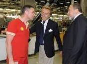 ministre affaires étrangères Israëlien visite usines Ferrari