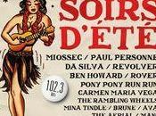 Festival Soirs d'été concerts gratuits juillet 2012