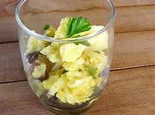 Salade chou fleur raisins amandes