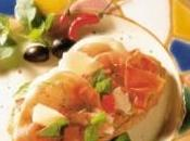 Crostini jambon cru, tomates, parmesan basilic