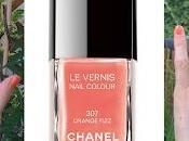 Lubie Vernis: Orange Fizz Collection Côte d'Azur Chanel