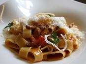 Plat semaine: Mezzi Paccheri all'Amatriciana oignons confits, pancetta maison tomates fraîches