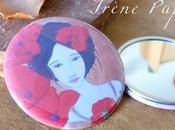 miroirs badges dans Cannelier
