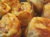 Muffins salés pommes terre pancetta