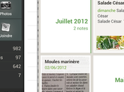 Evernote: nouvelle interface pour tablettes Android