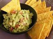 Guacamole nachos épicées maison