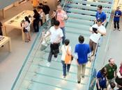 rénovation pour l'Apple Store Soho N.Y...