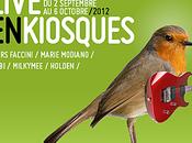 Programme rentrée musicale avec Rendez Vous Lune, Festival Inrocks Kiosquorama