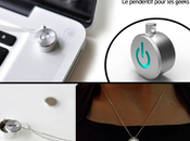 iNeckLace v1.0 pendentif pour geekette open source