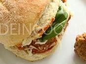 Sandwich boulettes viande- Joey Tribianni