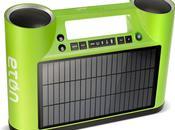 Rukus ghetto-blaster énergie solaire