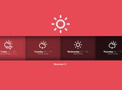 iPad iPhone Sun, superbe application météo
