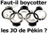 Faut-il boycotter Pékin