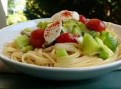 Salade Linguine Légumes Jardin