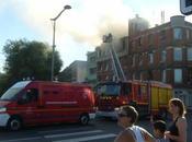 L'hospice Cotteel proie flammes