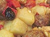 Salade pommes terre mozzarella boulettes viande