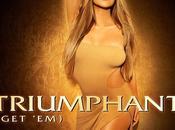 """Mariah Carey sublime pochette nouveau single """"Triumphant"""""""