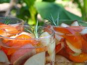 Abricots nectarines gelée romarin