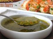 Sauce chimichurri (sauce vinaigrette argentine)