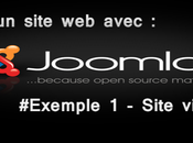 Créer site avec Joomla! #Exemple Site vitrine