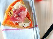Pizza Artichaut Jambon Huile Truffe