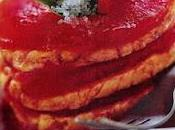 Mille-feuilles saumon, tomate basilic