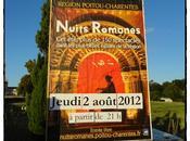 Nuits Romanes l'abbaye Sablonceaux, août 2012