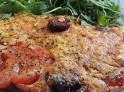 Omelette tomate chorizo