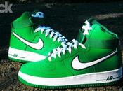 Nike Force High Pine Green White