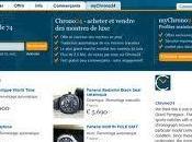 clics, trouvez votre montre luxe avec Chrono