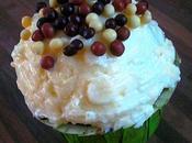 Glaçage fromage frais vanillé pour cupcakes