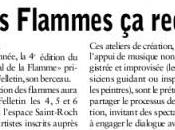 Festival Flamme 2012, presse parle...