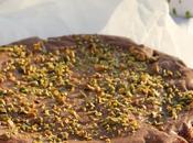 Brownie chocolat noir pistaches pour finir douceur notre pique nique plage
