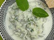 Raïta concombre menthe Cucumber Mint Raita
