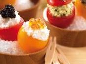 Recette apéritif pour l'été Tomates cerise farcies