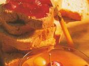 Tartine gourmande raisiné soupe glacée fruits.