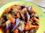 Aubergines tomates sautées sauce d'huître 蠔油双茄 háoyóu shuāngqié