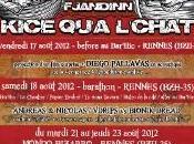 Fjabdinn Kice Qu'a L'Chat Mondo Bizarro Rennes 21/08/2012