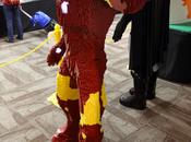 sculpture d'Iron LEGO