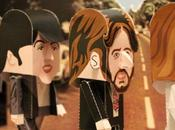 Papertoys Beatles Gary Willis