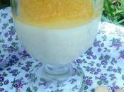 Pana cotta l'orange citron