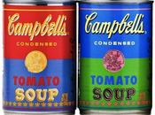 boîtes soupe Campbell's d'Andy Warhol
