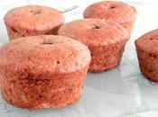 Muffins farine châtaigne crème marron coeur chocolaté