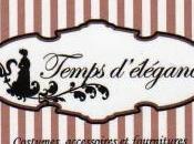 Interwiew insolite Fanny Temps d'élégance