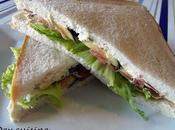 Club sandwich figue jambon Bayonne