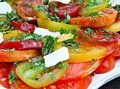 Salade tomates anciennes