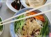 Nouilles froides sauce sésames 芝麻酱凉面 zhīmájiàng liángmiàn