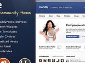 Huddle Thème Communautaire pour WordPress BuddyPress